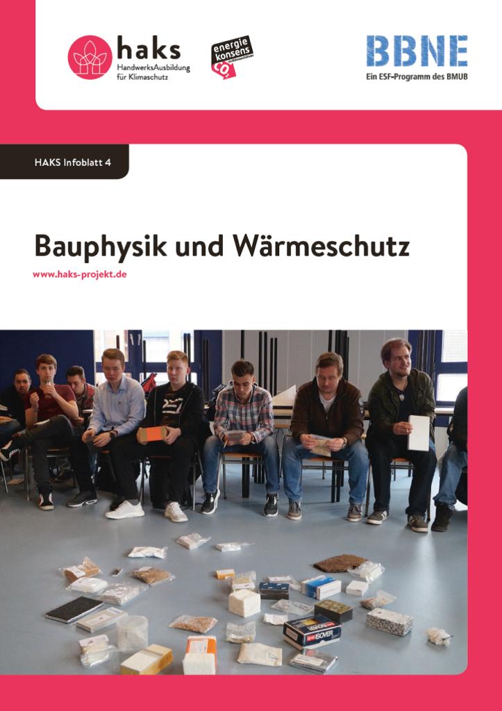 Infoblatt Bauphysik und Wärmeschutz