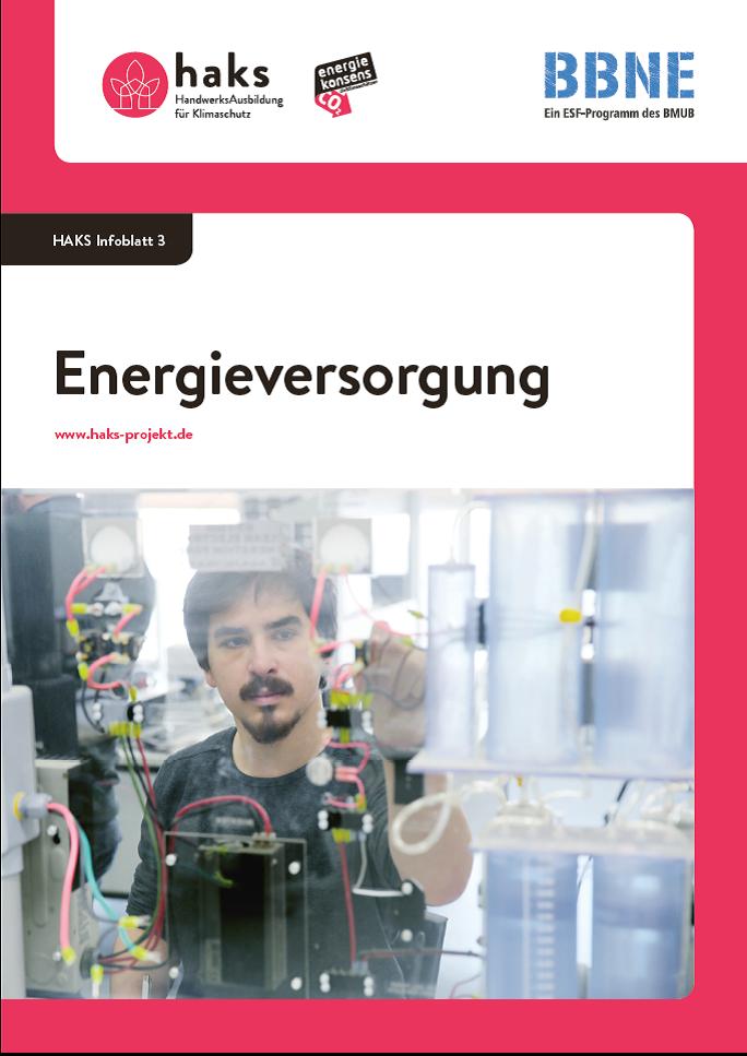 Infoblatt Energieversorgung