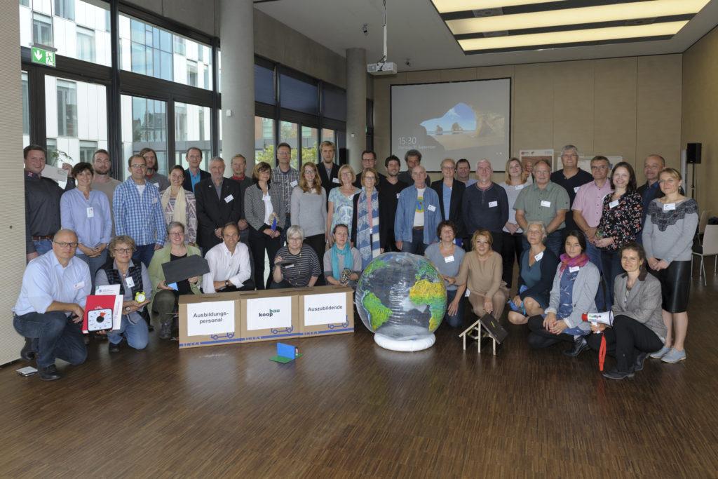 14 bundesweite BBNE-Projekte kamen bei der letzten Fachwerkstatt in Bremerhaven zusammen. Foto: energiekonsens / Masorat